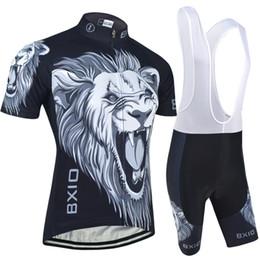 Bxio бренд черный Велоспорт команда одежда наборы Pro с коротким рукавом велосипед одежда с брюки высокое качество лайкра велосипед одежда наборы BX-0209H030 cheap team apparel от Поставщики командная одежда