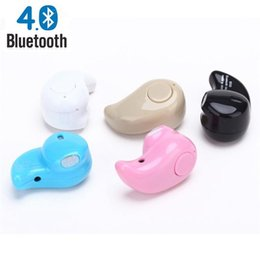Mini fone bluetooth online-Mini Auricular Estéreo Bluetooth 4.1 Auriculares Auriculares Inalámbricos Auricular Micro para el teléfono xiaomi