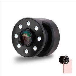 Wholesale Wholesale Macro Flash - Fill Light Lens Wide Angle Macro Camera Common Mobile Phone Stalls Brightness Remax Clip Multifunction Portable Selfie LED Flash Ring Profes