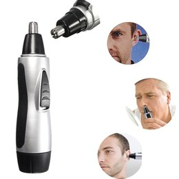 Wholesale Cheap Hair Trimmers - Plastic Shell Electric Nose Ear Face Hair Trimmer Remover Shaver Clipper Cleaner Hypoallergenic With Retail Package Cheap A510