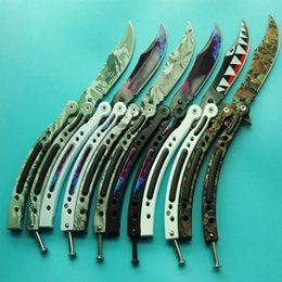 Wholesale Fire Training - 30 models benchmade CSGO Cross Fire training magic jilt knife Free-swinging Knife hunting knife 1pcs