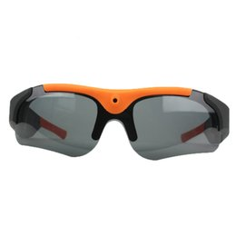 Wholesale Exclusive Sunglasses - Wholesale- 2016 Exclusive Digital Audio Video Camera DVR Sunglasses fashion Sport Camcorder Recorder For Driving Outdoor spy
