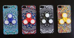 copertura del filatore Sconti Custodia a mano Spinner Case Fidget Spinner Cover per iPhone 7 Plus 6s Plus Samsung S8 con confezione