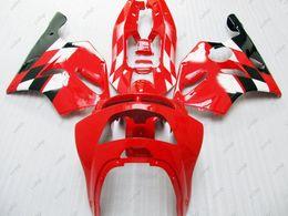 Wholesale 1997 Black Kawasaki Zx6r - Fairing Kits for Kawasaki Zx6r 1994 Body Kits Zx6r 1997 Red Black ABS Fairing 636 Zx-6r 1996 1994 - 1997