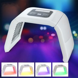 Wholesale Pdt Led Beauty Light Machine - 4 Color PDT LED Light Therapy Machine LED Facial Beauty SPA PDT Therapy For Skin Rejuvenation Acne Remover Anti-wrinkle