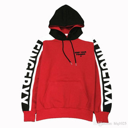 Wholesale Exo Pullover - Fashion Pullover Oversized Kanye West Hoodie Super Star Streetwear Hip-hop Cotton EXO LUHAN Sweatshirt Free Shipping