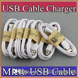 Wholesale galaxy note data cable - 1m  3 ft cell phone usb charging cable for v8 micro data cable work with HTC one s4 s3 s5 galaxy note 3 2 lenovo usb G-SJ