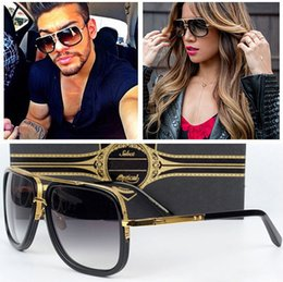 Wholesale New Fashion Glasses - Wholesale - 2017 New Fashion Mach One Gradient Sunglasses Men Women Brand Design Sun Glasses Vintage Retro Classic Oculos De Sol Gafas