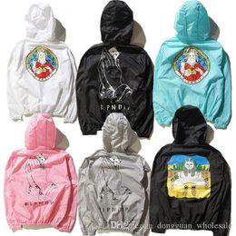 Wholesale E Pocket - Ripn Dip Pray Lord Nermal The Pyramid Sun Jackets Men Women Fashion Summer Sunproof Jackets Brand Clothing Y E E Z Y PALACE Coats