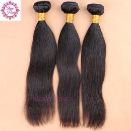 Wholesale Human Hair Weave Brands - Free Shipping 10A 100% Unprocessed Peruvian Virgin Hair 3 Bundles 100% Human Hair Weave Brands Peruvian Hair Free Shipping