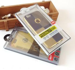 Wholesale Transparent Pvc Plastic Blister - 200pcs Fashion Blister Retail Packaging Box Cell Phone Case Packaging Box For iphone 6 Plus Note 4 S5 S4 Transparent Plastic PVC Box