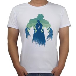 Wholesale Hulk T Shirts - palace T Shirts The Avengers Catoon Characters Printed Men T-shirt The Hulk Winter Solider Creative Design Male Funny Tops Tee