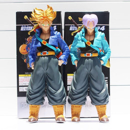 Wholesale Dragon Ball 24 - Dragon Ball Z Super Saiyan Trunks PVC Action Figure Collectible Model Toy 24~26cm 2style Selectable Box Packaged Free Shipping