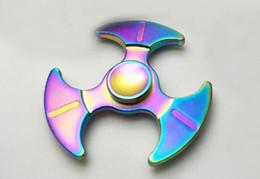 Wholesale Gags For Sale - New Lead Axe Shape Rainbow Hand Spinner EDC Sale Fidget Spinner Metal Finger Toy Good for Chirldren Fidget Spinners Novelty & Gag Toys