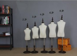 Wholesale Mannequin For Fashion - wholesale fashion 23468 year Children's half-style models props can wear pants cosmetology adjustable-mannequin for clothes 1PC B610