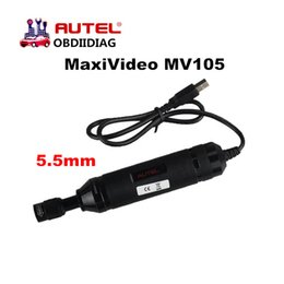 Wholesale Mazda Series - Autel MaxiVideo MV105 Digital Inspection Cameras work with MaxiSys Series & PC with Image Head 5.5mm video inspection scope