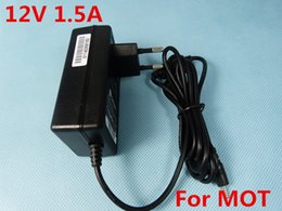 Wholesale Droid Pc - Wholesale- 12V 1500mA 1.5A EU AC Adapter For Motorola Droid Xyboard MZ607,Corvair Tablet PC Power Charger Supply