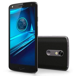 Wholesale Wholesale Droid Phones - Refurbished Original Motorola DROID Turbo 2 XT1585 5.4 inch Octa Core 3GB RAM 32GB ROM 21MP Camera 4G LET Android Mobile Cell Phone DHL 5pcs
