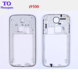 Wholesale Galaxy S4 Replacement Parts - LCD Middle Frame Bezel Housing For Replacement Parts Samsung Galaxy S4 SIV i9500 i9505 Free Shipping