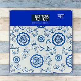 Wholesale Cheap Body Weights - 7 colors High quality bathroom scale weight scale portable human body electronic scale,convenient and cheap!!