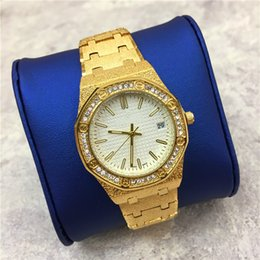 Wholesale Diamond Girls Dress - Luxury Top Brand Women watch Dull Polish Diamonds Jewelry buckle Elegant Dress watch Stainless steel Lover watch gift for Girl free shipping