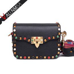 Wholesale Autumn Handbag - Wholesale- 2016 Autumn Fashion Women Mini Messenger Bag Designer Brand Shoulder Bag Vintage Diamond Crossbody Bags Ladies Handbag Small Bag