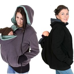 Wholesale Infant Carrier Covers - Baby Carrier Cover Infant Toddlers Plus Velvet Coat for Sling Wrap Baby Carrier Backpack Hooded Cloak for Winter Baby Suspenders