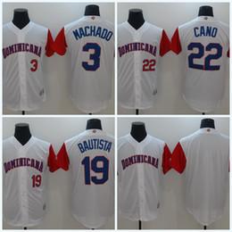22b326dd9 ... authentic team jersey  mens 2017 world baseball classic dominican  republic jersey 3 manny machado 19 jose bautista 22 robinson