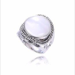 Wholesale Thailand Fashion Rings - 2017 New Wholesale Retro Fashion Jewelry Unique Thailand 925 Ring For Women fit Original Pandora Party 2017 Charm