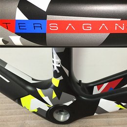 Wholesale China Carbon Bikes - Top sale Good quality Made in China Camouflage Peter Sagan carbon road frame with 3K UD BB30 BB68 PF30 free shipping