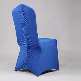 Nuovo 2016 universale all'ingrosso Lycra copertura della sedia di nozze Hotel poliestere copertura di sede evento copertura di natale sedia da porcellana fabbrica 20170629 # da