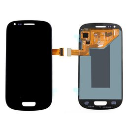Wholesale S3 Mini Repair - Brand New Top quality Repair LCD front LCDs For Samsung Galaxy S3 Mini lcd free shipping
