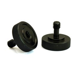 Wholesale Photo Adapter - Tripod Camera Accessories 1 4 Male to 1 4 Female Screw Adapter for L Type Flash Bracket Photo Studio Accessories
