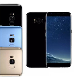 Wholesale Dual Core Tv - Real 6.2inch Goophone S8+ S8 Plus Curved 1280*720 1G 4GB Andorid MTK6580 Quad core Show Octa Core Show 4G 128GB Show 4G Lte GPS Smartphone