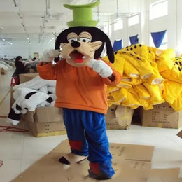Wholesale Plush Dog Mascot Costumes - Adult size wholesale plush Goofy and Pluto dog mascot costumes role playing cartoon