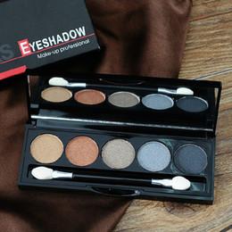 Wholesale Using Eye Shadow - Fashion Easy Using Professional Salon Party Makeup Eye Shadow Waterproof Glitter Eyeshadow Palette with Brush 25611