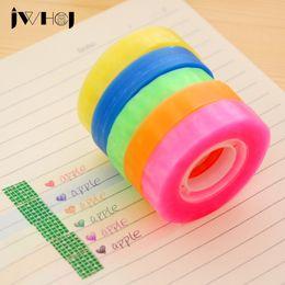Wholesale Transparent Tape Wholesale - Wholesale- 2016 1 pcs JWHCJ Can write color transparent adhesive tape 1.3cm X 32m children diy scrapbooking Diary decor masking tape stati