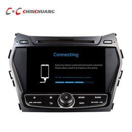 Wholesale Gps For Hyundai - Octa Core HD Android 6.0.1 Car DVD Player GPS for Hyundai Santa FE IX45 with Navigation Radio Wifi Mirror link DVR