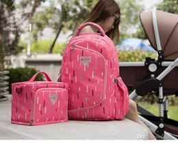 Wholesale Isothermic Bag - 2017 new European multifunction mummy bag baby diaper bags stroller bags thermos bag isothermic shoulder bag high-grade waterproof