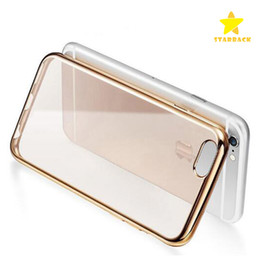 Wholesale Iphone Soft Clear Cases - For Iphone 7 Plus Iphone 6 Plus Samsung S8 S8 plus S7 Crystal Gel Case Ultra-Thin transparent Soft TPU Cases LG Clear Cases