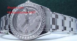 Wholesale Mens Masterpiece Watch - hot Luxury High Quality Sapphire Glass Mechanical Watch Diamond 39mm Men's Platinum DIAMOND MasterPiece Model 18946 Automatic Mens Watch Wat