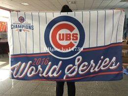 Wholesale Banner Factories - factory price hot sale 3ftx5ft 2016 world series Chicago Cubs Baseball W Flag hot sell goods 3X5FT 150X90CM Banner brass metal holes