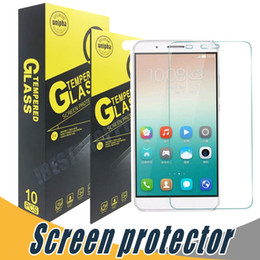 Wholesale Pro Mates - Tempered Glass 9H 2.5D Clear Anti Shatter Screen Protector Film For Huawei P9 Lite P9 Plus Mate S 2 9 Pro 7 8 9 7 Mini G6