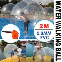 Wholesale Zorb Water Balls - 2m Water Walking Walker Ball Inflatable PVC Reusable Roll Ball Zorb Ball POPULAR