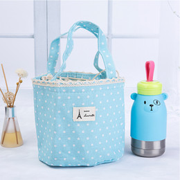 Wholesale Insulated Lunch Bag Black - Picnic Pouch handbags Lunch Container Thermal Insulated Cooler Bag Lunch Box Tote Portable lunch bags for Women Isothermic Bags