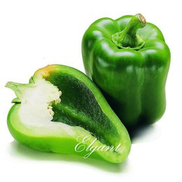 Wholesale Bell Peppers Seeds - Green Bell Pepper Vegetable Seeds 50 Seeds Easy-growing Non-GMO High Yield Heirloom Vegetable for Pot or Ground Sow