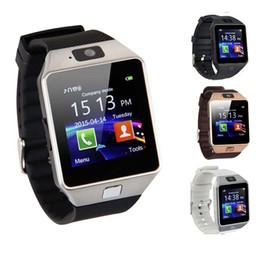2019 телефоны с несколькими sim картами Смарт-часы DZ09 с камерой Bluetooth наручные часы SIM-карта Smartwatch для Ios Android телефонов поддержка нескольких языков Розничный пакет дешево телефоны с несколькими sim картами