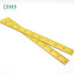Wholesale Measure Clothes - Hotwear Plastic clothes tailor ruler ruler measuring body measurement tailor DIY proper tools plastic tailoring tool