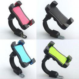 держатели для мотоциклов Скидка Держатель для мобильного телефона для мотоциклов - Универсальная подставка для телефона GPS Держатель для мотоцикла - Аксессуары для мотоциклов (4 цвета)