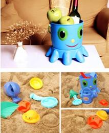 Ferramentas de areia do bebê on-line-Maternidade do bebê Ferramentas de Praia Conjunto de Areia Jogando Brinquedos 14 pçs / set Crianças Divertidas Água mar verão Praia Litoral Ferramentas